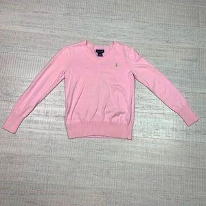 Ralph Lauren size 16 XL pink sweater